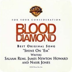 Blood Diamond Bande Originale (James Newton Howard) - Pochettes de CD