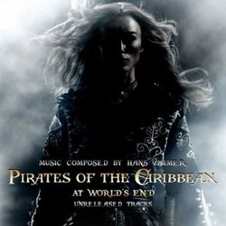 Pirates Of The Caribbean: The Unreleased Suites Soundtrack (Hans Zimmer) - CD cover