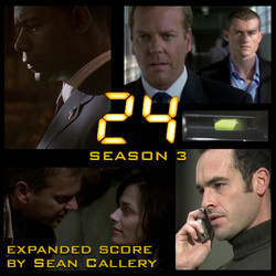 24 Season 3 Bande Originale (Sean Callery) - Pochettes de CD