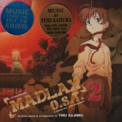 Madlax O.S.T. 2 Soundtrack (Yuki Kajiura) - CD cover