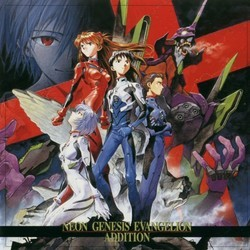 Neon Genesis Evangelion: Addition Soundtrack (Various Artists) - CD cover