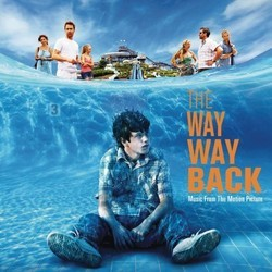 The Way Way Back Soundtrack (Various Artists, Rob Simonsen) - CD cover