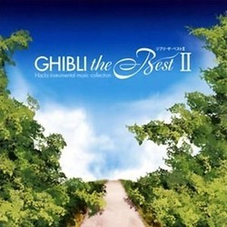Ghibli the Best II Soundtrack (Various Artists, Joe Hisaishi) - CD cover