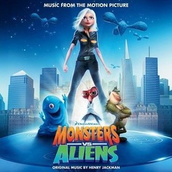 Monsters vs. Aliens Soundtrack (Various Artists, Henry Jackman) - Car�tula