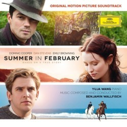 Summer in February Soundtrack (Benjamin Wallfisch) - CD cover