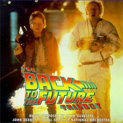 The  Back to the Future Trilogy Soundtrack (Alan Silvestri) - Car�tula