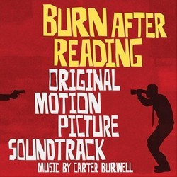Burn After Reading Soundtrack (Carter Burwell) - CD cover