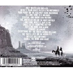 The Lone Ranger: Wanted Soundtrack (Various Artists) - CD Back cover