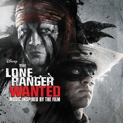 The Lone Ranger Soundtrack (Various Artists) - CD cover