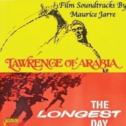 Lawrence of Arabia & The Longest Day Soundtrack  (Maurice Jarre) - CD cover