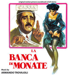 La Banca di Monate Soundtrack  (Armando Trovajoli) - CD cover