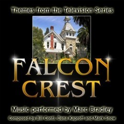 Falcon Crest: Themes from the Television Series Soundtrack (Marc Bradley) - CD cover