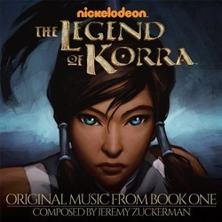 Legend of Korra Soundtrack (Jeremy Zuckerman) - CD cover