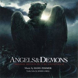 Angels & Demons Soundtrack (Hans Zimmer) - CD cover