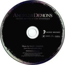 Angels & Demons Soundtrack (Hans Zimmer) - cd-inlay