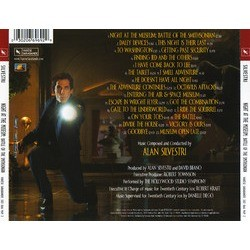 Night at the Museum: Battle of the Smithsonian Soundtrack (Alan Silvestri) - CD Trasero