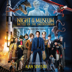 Night at the Museum: Battle of the Smithsonian Soundtrack (Alan Silvestri) - Carátula