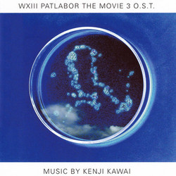 WXIII: Patlabor the Movie 3 Soundtrack (Kenji Kawai) - CD cover