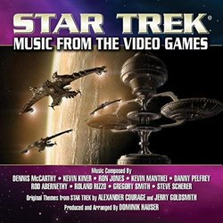 Star Trek : Music from the Video Games Soundtrack (Rod Abernethy, Ron Jones, Kevin Kiner, Kevin Manthei, Dennis McCarthy, Danny Pelfrey, Roland Rizzo, Steve Scherer, Gregory Smith) - CD cover
