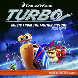 Turbo Soundtrack (Various Artists, Henry Jackman) - CD cover