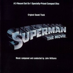 Superman: The Movie Trilha sonora (John Williams) - capa de CD