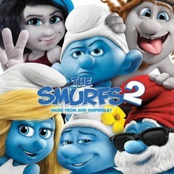 The Smurfs 2 Soundtrack (Various Artists) - CD cover