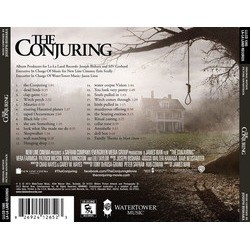 The Conjuring Soundtrack (Joseph Bishara) - CD Back cover