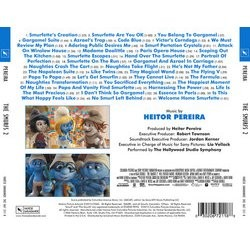 The Smurfs 2 Soundtrack (Heitor Pereira) - CD Back cover