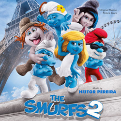 The Smurfs 2 Soundtrack (Heitor Pereira) - CD cover
