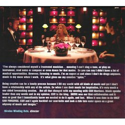 Only God Forgives Soundtrack (Cliff Martinez) - cd-inlay