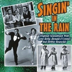 Singin' in the Rain Soundtrack (Nacio Herb Brown, Original Cast, Arthur Freed) - Carátula