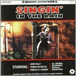 Singin' in the Rain Soundtrack (Nacio Herb Brown, Original Cast, Arthur Freed) - CD-Cover