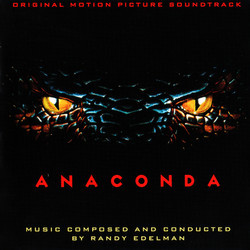 Anaconda Soundtrack (Randy Edelman) - CD cover