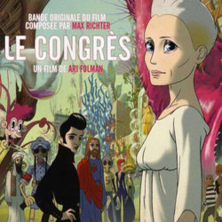 The Congress Soundtrack (Max Richter) - CD cover