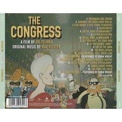The Congress Soundtrack (Max Richter) - CD Back cover