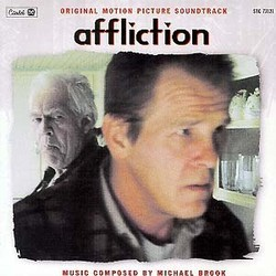 Affliction Soundtrack (Michael Brook) - CD cover
