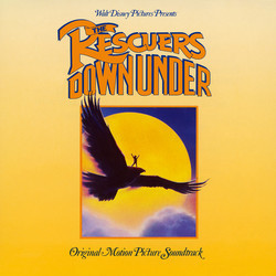The Rescuers Down Under Soundtrack (Bruce Broughton) - CD cover