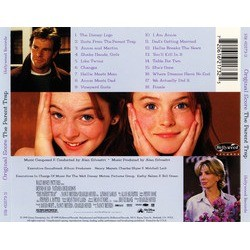 The Parent Trap Soundtrack (Alan Silvestri) - CD Back cover