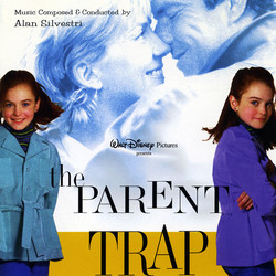 The Parent Trap Soundtrack (Alan Silvestri) - CD cover