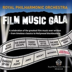 Film Music Gala Soundtrack (Various Artists) - CD cover