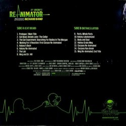 Re-Animator Soundtrack (Richard Band) - CD Back cover