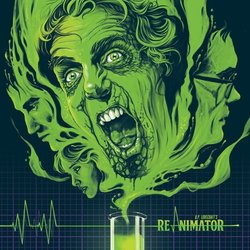 Re-Animator Soundtrack (Richard Band) - CD cover