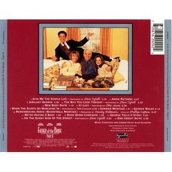 Father of the Bride Part II Soundtrack (Various Artists, Alan Silvestri) - CD Trasero