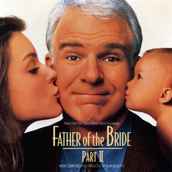 Father of the Bride Part II Soundtrack (Various Artists, Alan Silvestri) - CD cover