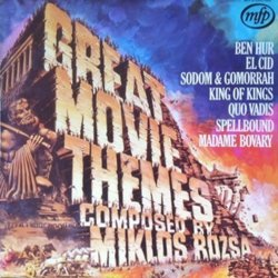 Great Movie Themes 聲帶 (Miklós Rózsa) - CD封面