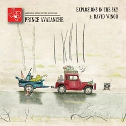 Prince Avalanche Soundtrack ( Explosions in the Sky, David Wingo) - CD cover