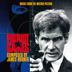 Patriot Games Soundtrack (James Horner) - CD cover