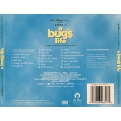 A Bug's Life Soundtrack (Randy Newman) - CD Achterzijde