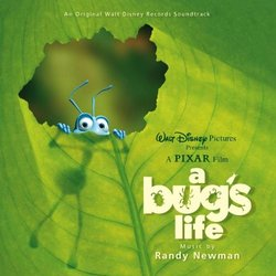 A Bug's Life Soundtrack (Randy Newman) - CD cover