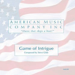 Game of Intrigue Soundtrack (Steve Gibb) - CD cover